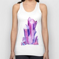 crystal Tank Tops featuring Crystal by Christina Guo