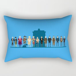 THE DOCTORS WILL SEE YOU NOW Rectangular Pillow