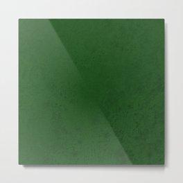 Green powder Metal Print