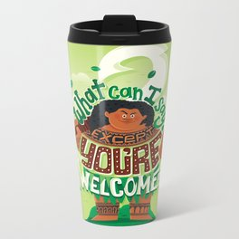 Hero to all Metal Travel Mug