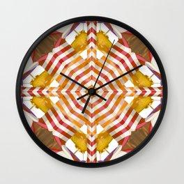 Candy Cane Christmas Decor Wall Clock
