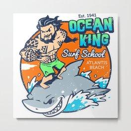 Ocean King Metal Print