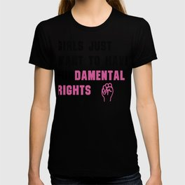 Cyndi Lauper's Official Girls Just Want to Have Fundamental Rights T-shirt
