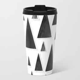 Modern Christmas Trees | Holiday Minimalism Travel Mug