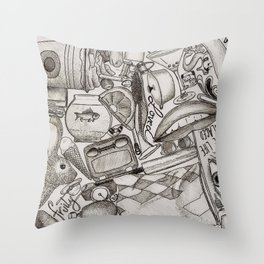 Kerbobbled Throw Pillow