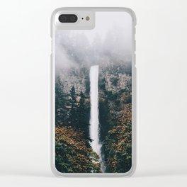 Multnomah Falls Clear iPhone Case