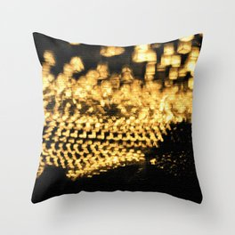 Countless lights Throw Pillow