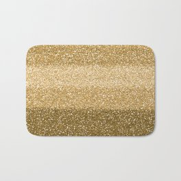 Glitter Glittery Copper Bronze Gold Bath Mat