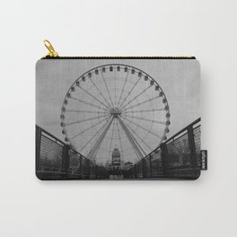 Wheel At Old Port Carry-All Pouch