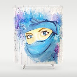 The Arabian Girl Shower Curtain