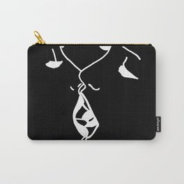 deep kiss black Carry-All Pouch
