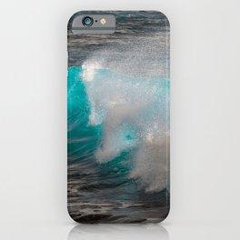Neon Wave iPhone Case