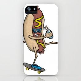 Hot Doggin' iPhone Case
