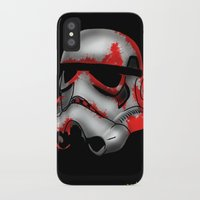 storm trooper iPhone & iPod Cases featuring Storm Trooper by Art of Fernie