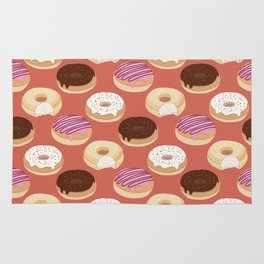 Donuts (Red) Rug