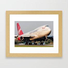 Jumbo Jet Framed Art Print