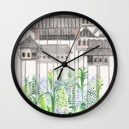 Jungle Stilts Wall Clock