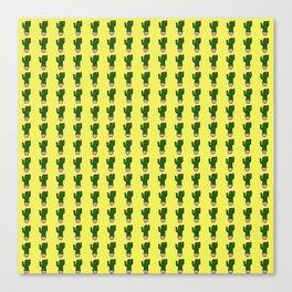 Cactus Pattern 1 Canvas Print