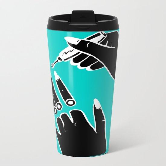 Soft Sensuality Metal Travel Mug