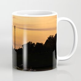 Sunset formation Coffee Mug