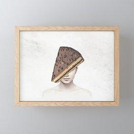 Cake Lady Framed Mini Art Print