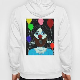 lucy the clown Hoody
