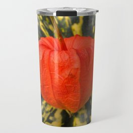Chinese Lantern and Acorn Squash Travel Mug