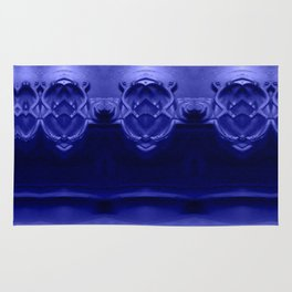 The future was already here! Ultraviolet Rug