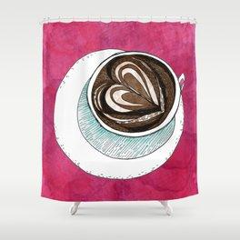 Latte Shower Curtain