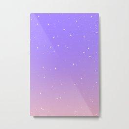 Keep On Shining - Lavender Sunrise Metal Print