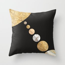 Cosmic space II Throw Pillow