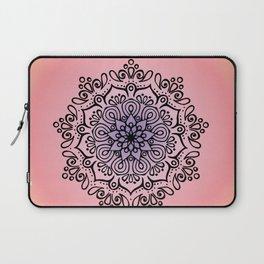 Baesic Sunset Traquil Mandala Laptop Sleeve