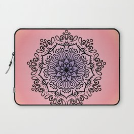 Baesic Sunset Traquil Mandala Laptop Sleeve