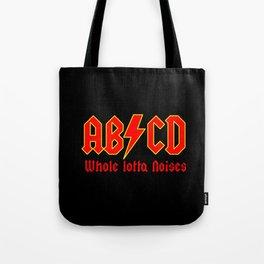 ABC, a heavy metal parody Tote Bag