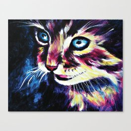 Cheshire Cat in a Good Mood Canvas Print