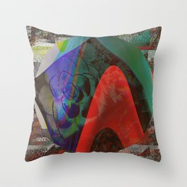 Chaotic Delight Throw Pillow