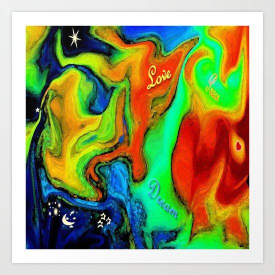 """""""Dreams Awake"""" Art Print"""
