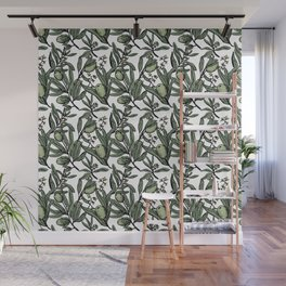 Olives pattern Wall Mural