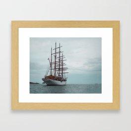 At Sea, Malta Framed Art Print