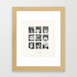 Super Mercredi Bros Heroes (3/8) Framed Art Print
