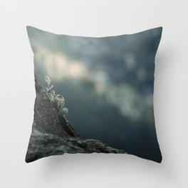 Towards the void Throw Pillow