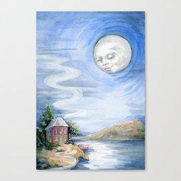 Lake House Odd Canvas Print