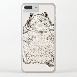 Draw Me Like One Of Your French Frogs Clear iPhone Case
