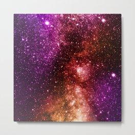 Galaxy Metal Print