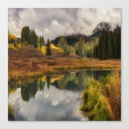 Transition by OLena Art Canvas Print