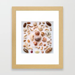 Twisted Bits Framed Art Print