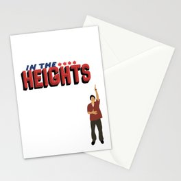 In the heights Broadway musical art Stationery Cards