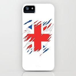 Torn Flag UK iPhone Case