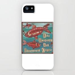Red Herrings iPhone Case