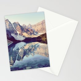 Moraine Lake Reflection Stationery Cards